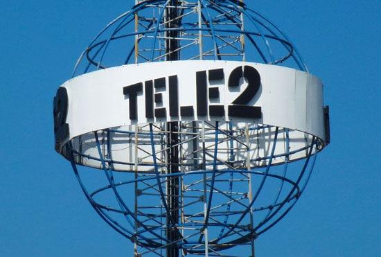 Tele2s nät